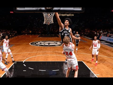 Jarrett Allen ENDS Lauri Markkanen's Career With A Crazy Poster! Nets vs Bulls!