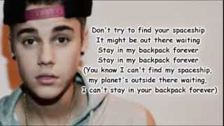 Justin Bieber - Backpack Feat.  Lil Wayne (Lyrics Official)