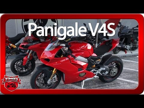 2018 Ducati Panigale V4S Review