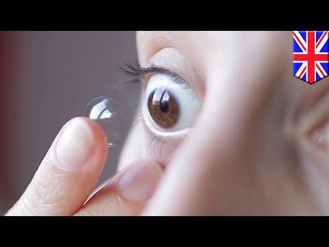 27 Lensa kontak tersangkut di bola mata wanita selama 35 tahun - Tomonews