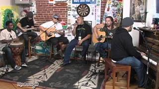 THE GREEN Trod The Hard Road - stripped down session @ the MoBoogie Loft