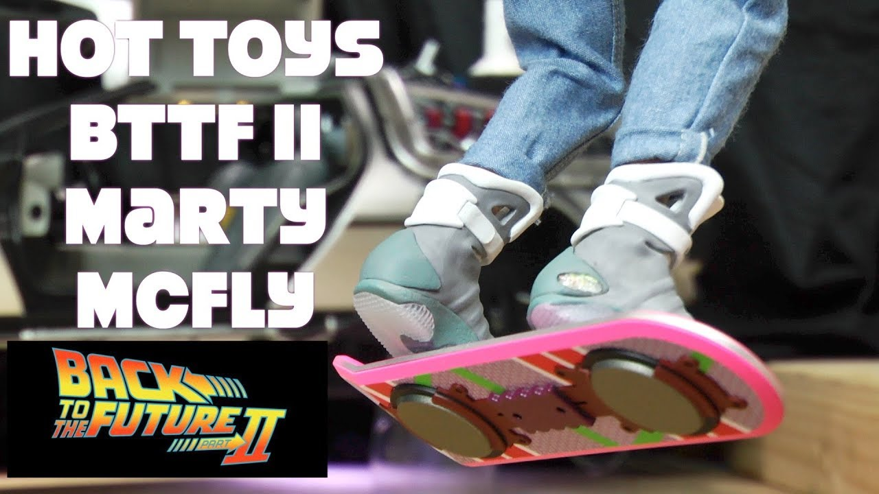 Mattel Back to the Future Mini Hoverboard  Matty Collector