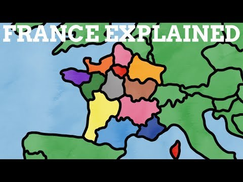 How Did France & Its Regions Get Their Names?