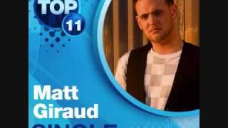 Matt Giraud- So Small (Studio Version) + Download