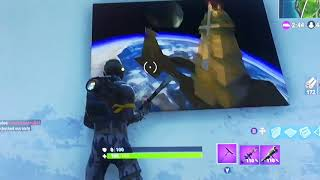 NEW *SECRET* METEOR PAINTING FOUND IN FORTNITE BATTLE ROYALE!!!!!!