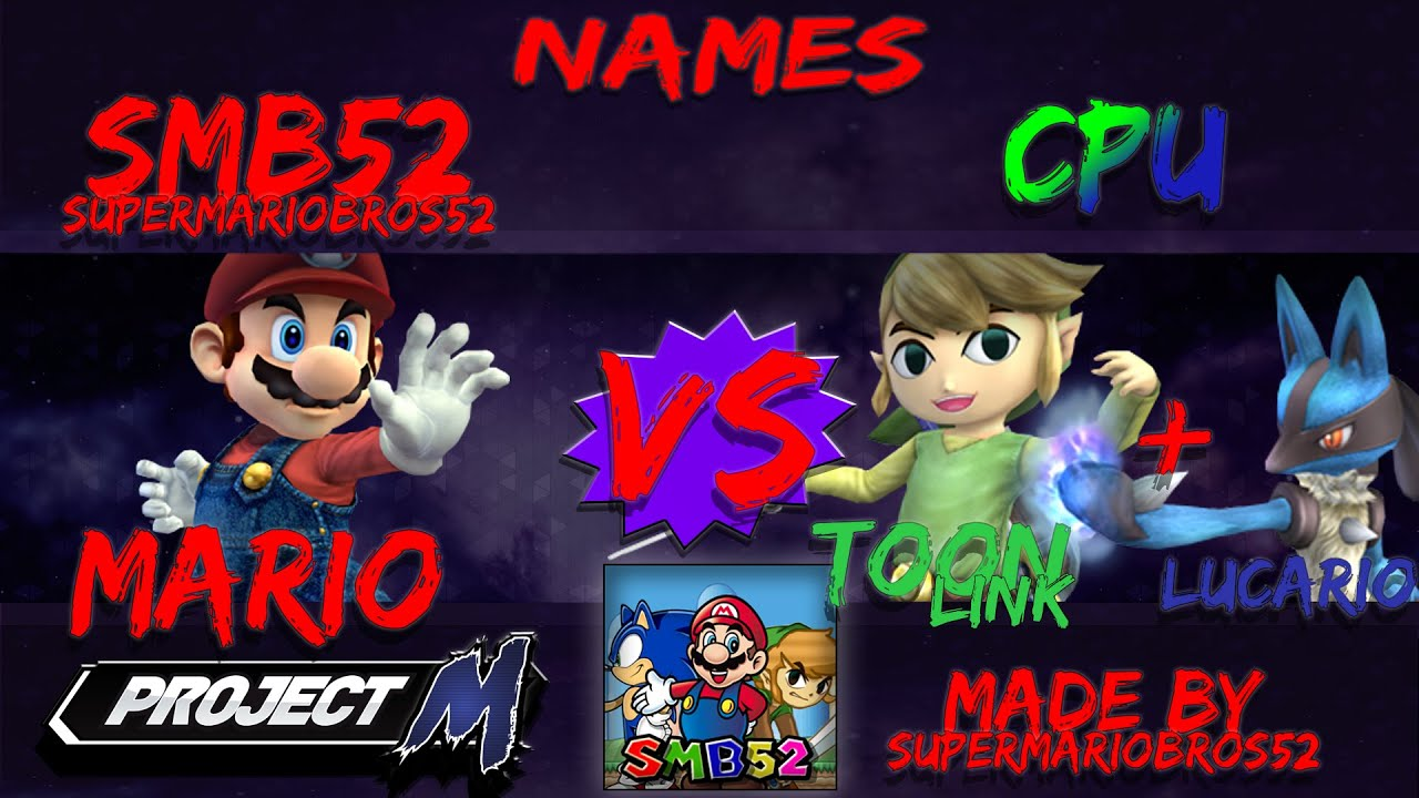 how to get super smash bros project m