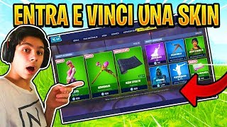 🔴REGALO UNA SKIN A CHI VINCE I MIEI SERVER PRIVATI! | Fortnite Battle Royale | Zerbiian