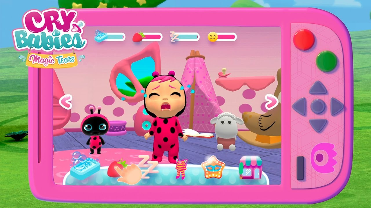 Take care of Lady! 🐞💕 APP 📲 CRY BABIES 💧 MAGIC TEARS 💕 IN ENGLISH