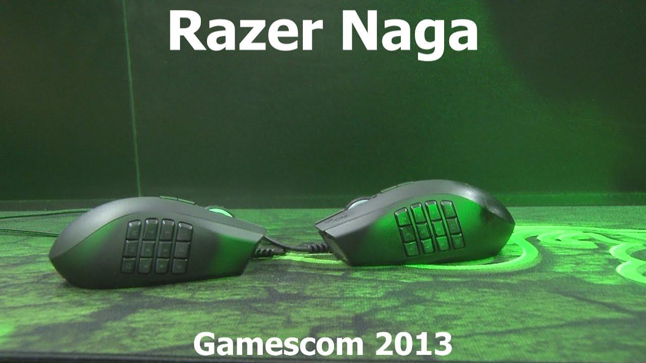53ec8d10ee4 Razer Naga 2014 edition (left & right) at Gamescom - Gamegear.be ...