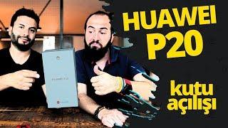 Huawei P20 kutu açılışı! - Küçük P20 Pro ofisimizde!
