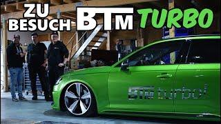 Zu Besuch bei gepfeffert Stützpunkt BTM-Turbo!