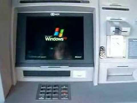 Citibank ATMs run Windows XP