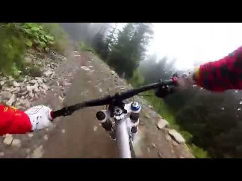Downhill MTB World Cup course - Schladming (Austria)