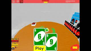 (Get ready to beat someone) Roblox Uno