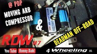 RDW7 Moving ARB Compressor & Deadman Off-road