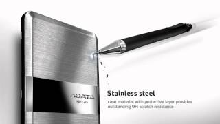 The Thinnest of Them All !! ADATA HE720 Slimmest Profile USB 3.0 External Hard Drive