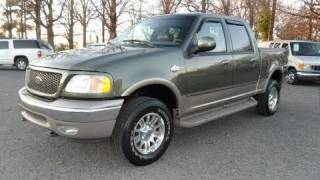 2002 Ford F-150 King Ranch Crew Cab Start Up, Engine, and In Depth Tour