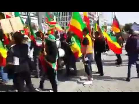 030   Ethiopia   Ethiopian Community in Berlin staged demonstration