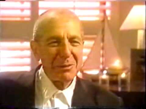 Leonard Cohen on depression and relationships