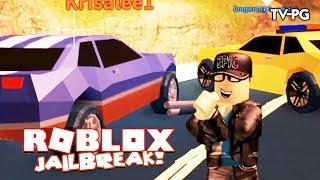 "JEWELRY STORE THEFT SUCCESS & ""POLICE"" FRIEND | Roblox JailBreak"