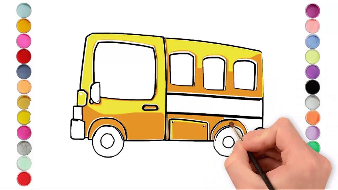 Cách vẽ ô tô – How to draw cars