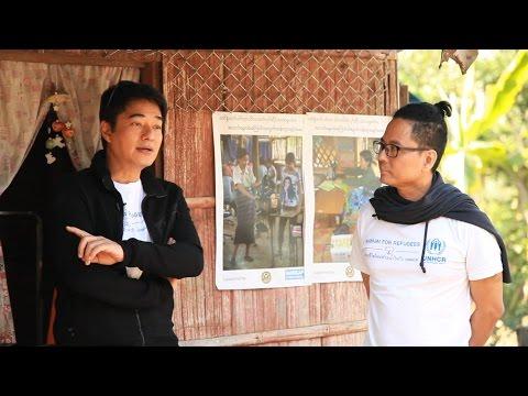 """UNHCR """"Namjai for Refugees"""" camp visit"""