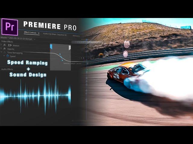 SLOW MOTION Avancé - Speed Ramping & Sound design sur Premiere Pro