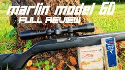 Marlin Model 60  22 LR Rifle FULL REVIEW