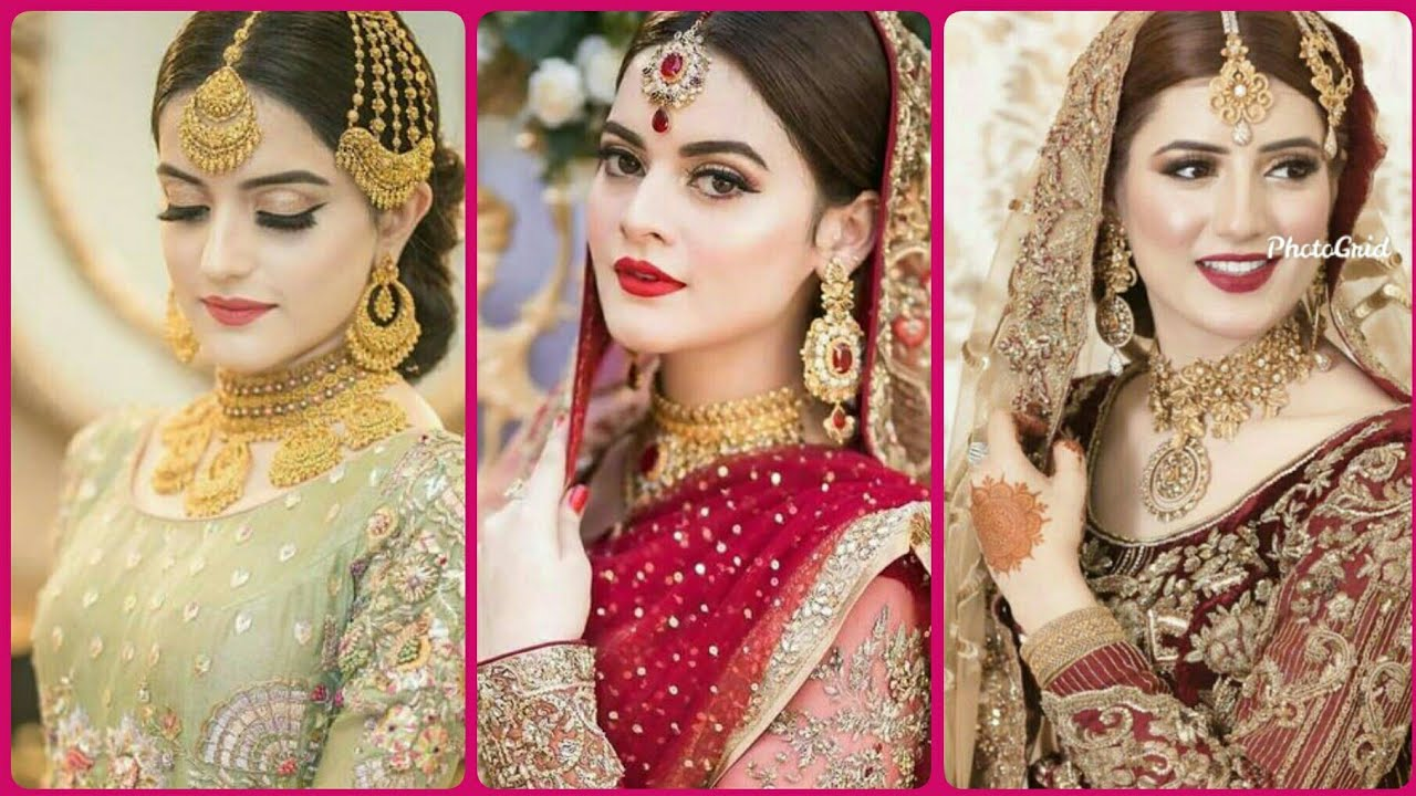 Unseen pakistani actress makeover bridal makeup ideas for girls ...