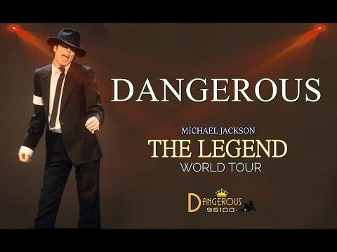Michael Jackson - Dangerous - The Legend World Tour