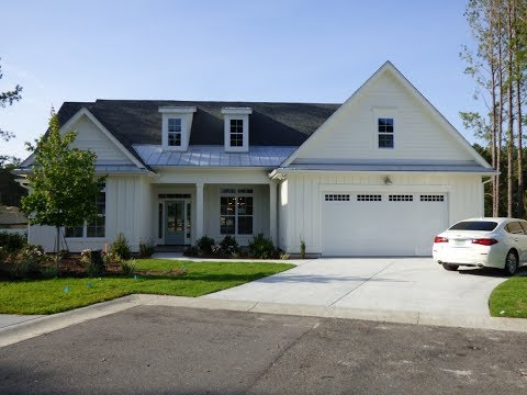 New Water Front Home For Sale At Hampton Lake In Bluffton SC