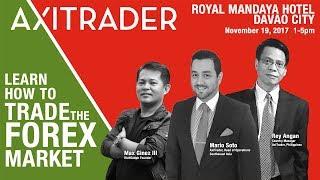 AxiTrader Forex 101 Royal Mandaya Hotel Davao 2017
