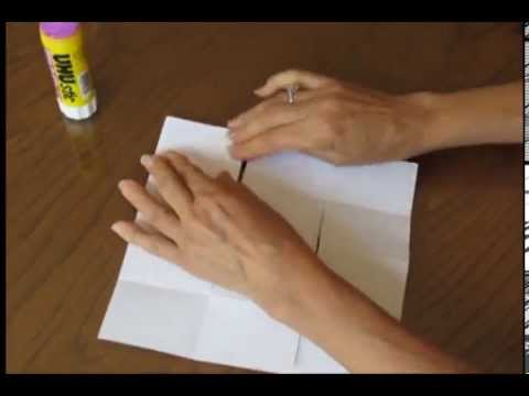 How to Make an 18 Page Mini-Book From One Piece of Paper