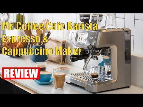 Review Mr. Coffee Cafe Barista Espresso and Cappuccino Maker, Silver 2018