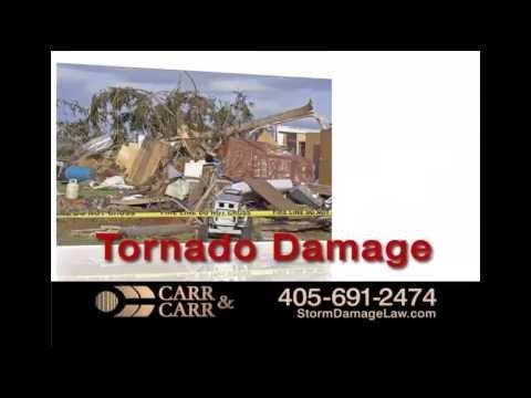 Oklahoma Tornado Damage Insurance Claim Help