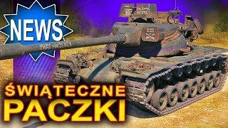 Paczki świąteczne - w nich czołgi i fantastyczne skórki - World of Tanks