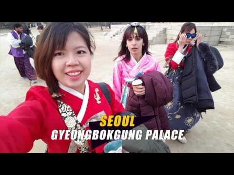 From 9 COUNTRIES, travelling in 5 CITIES in KOREA - Global WOW KOREA Supporters 2016