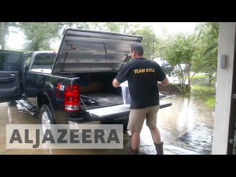 Harvey forces 30,000 people to evacuate in Texas