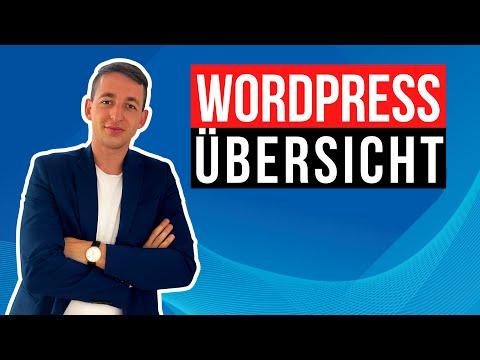 WordPress Tutorial für Anfänger – Allgemeine Übersicht