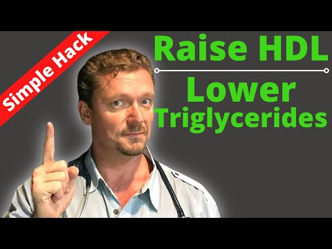 How to Raise Your HDL & Lower Your Triglycerides (NOT what you Think)