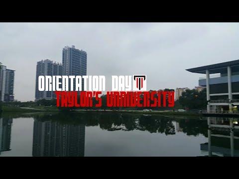 Vlog #1- Orientation Day || Taylor's University