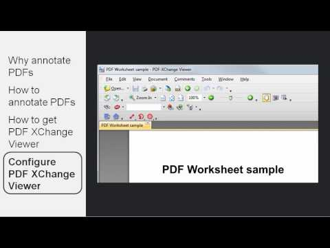 Annotating PDFs With PDF XChange Viewer - Load2Learn Tutorial
