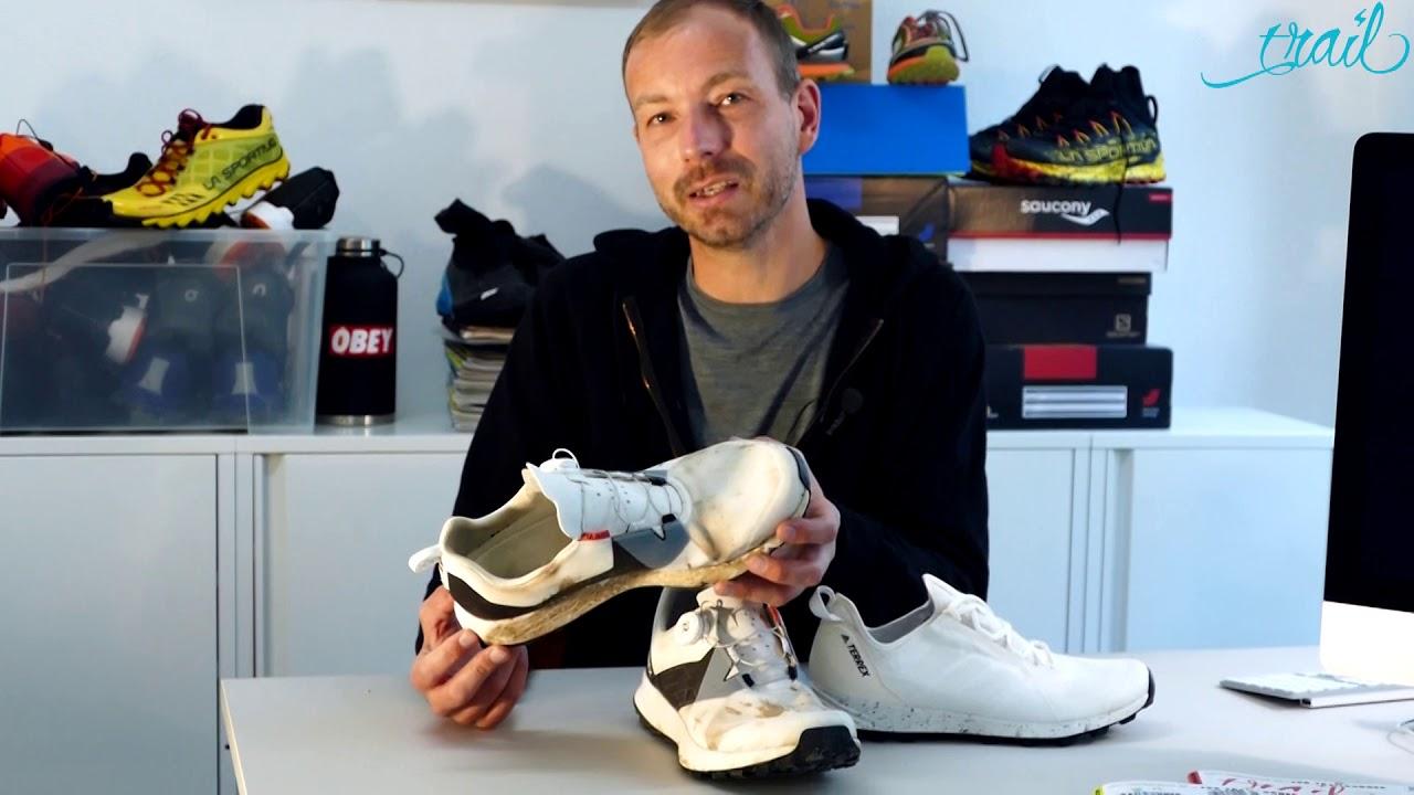 Test: Adidas Terrex Two Boa, Trailrunningschuhe