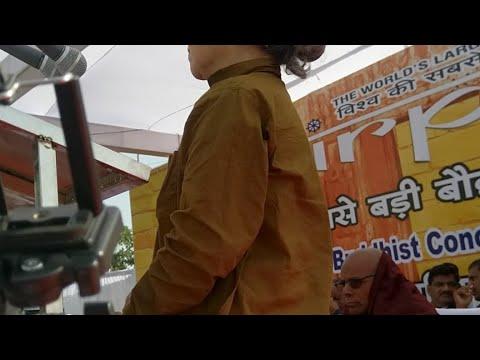 Live International Buddhist Summit In Shirpur
