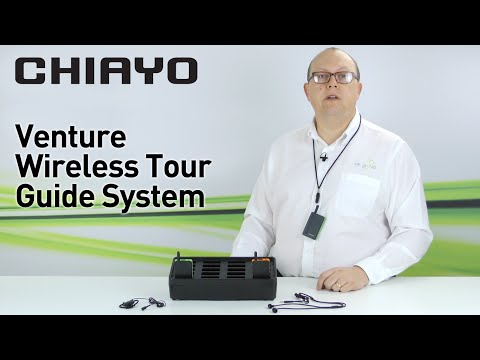 Chiayo Venture Wireless Tour Guide System