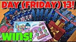 WINS,WINS AND MORE WINS!! FRIDAY THE 13TH SANTA BROUGHT WINNERS! Day 13 of 25 days of Christmas