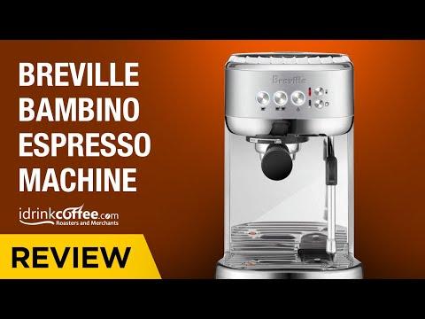 iDrinkCoffee.com Review - Breville Bambino Compact Espresso Machine