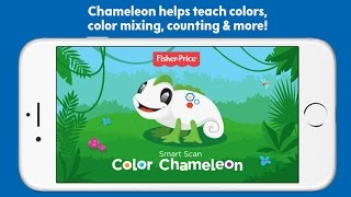 Think & Learn Chameleon By Fisher-Price - Best New App LEARN COUNTING, COLORS for Kids