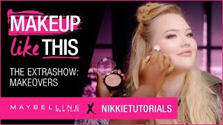 extra show 07 make makeovers happen maybelline new york