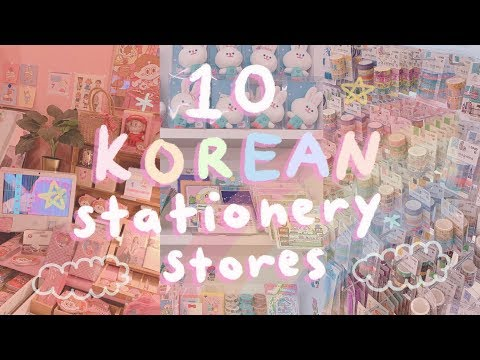 10 Korean Stationery Stores You Should Visit | Biggest DAISO in Seoul, Artbox, Hottracks, 10x10,etc.